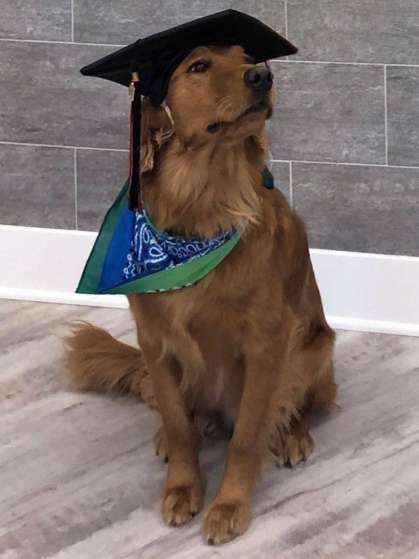 Calibur's Graduation Photo